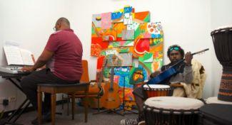 Community Hub Music Room